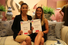 Clean sweep for Newcastle Business School students