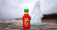 Felix har ketchup-effekt på Island