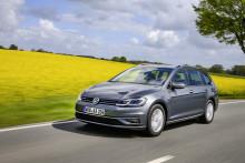 Gasdrivna Volkswagen Golf Sportscombi TGI erbjuds i Sverige igen
