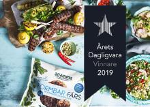 Anamma Formbar Färs från Orkla Foods Sverige är Årets Dagligvara 2019