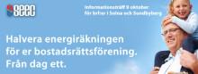 Informationsträff 9 oktober om geoenergilager för brf:er i Solna och Sundbyberg