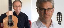 Unikt mästarmöte med Göran Söllscher och Mats Bergström