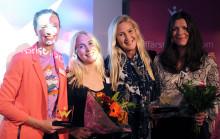 Johanna Berlinde och DataTjej vinnare av Womentorpriset 2015