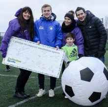 Smokefree sports championed by parents in Bury