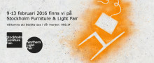 Glamox Luxo visar nyheter på Stockholm Furniture & Light Fair 9-13 februari