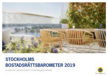 Stockholms bostadsrättsbarometer 2019