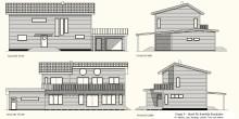 Framtida byggnadsingenjörer visar upp sina småhusprojekt