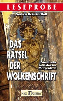 Pax et Bonum Verlag Berlin Leseprobe Buch: Das Rätsel der Wolkenschrift