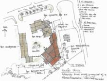 Bergs Hyreshus AB har tecknat avtal med NCC Construction Sverige AB för återuppbyggnaden av Hackås skola