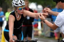Triathlon ökar stort bland barn och unga