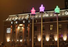 Clarion Hotel Post i Göteborg släcker för klimatet under Earth Hour 2013 #EarthHour