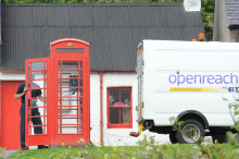 Kirkwall swaps iconic red payphone kiosks for superfast fibre broadband