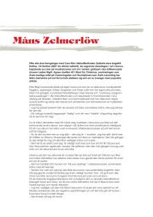 Måns Zelmerlöw biografi