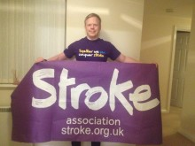 Bristol stroke survivor clocks up the miles for the Stroke Association