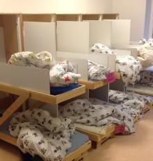 Sängskåp till förskolor - lösningen för alla trångbodda!