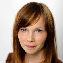 Ann-Helén Laestadius - en av gästerna på Bokens Dag i Lindesberg