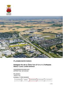 Planbeskrivning Trafikplats Ideon