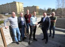Eidar och Serneke tecknar stort renoveringsavtal för kvarteret Guldvingen