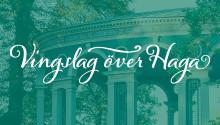 Vingslag över Haga – föreläsningar och vandringar våren 2017