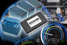 ROHM Announces the Industry's First* Monolithic EDLC Cell Balancing IC --Promotes expansion of the EDLC energy regeneration market for automotive and industrial applications--