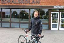 Riksidrottsförbundet satsar på cykel på Katedralskolan