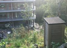 Bin och odlingar får Riksbyggens Brf Viva i Göteborg att blomstra