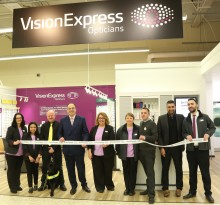 Local MP and charity ambassador join Vision Express to officially open new Northamptonshire optical stores