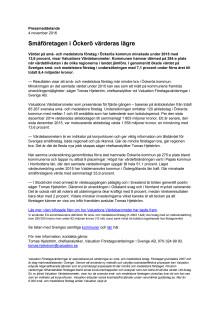 Värdebarometern 2015 Öckerös kommun