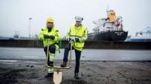 哥德堡港:液化天然气岸上加油项目破土动工