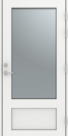 Fräsch design och efterfrågad funktion i nya dörrar från Diplomat