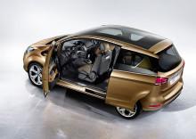 Svært konkurransedyktige priser på nye Ford B-MAX
