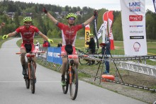 Seier til Persson og Haraldseth under NorgesCup 2 Terreng Maraton Montebellorittet.