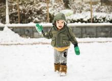 Børnestøvler til sne og sjap