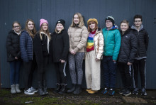 Unga Västanå sätter upp en nyskriven pjäs Vargskogen i mars