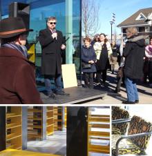 Berest och beläst – Älvängens nya bibliotek har invigts
