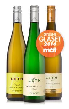 Weingut Leth tar emot Gyllene Glaset!
