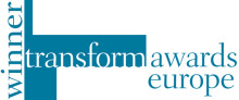 Bluewater wins at the 2015 Transform Awards Europe.