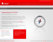 Deutscher Sparkassenverlag stellt S-Trust Produkte ein