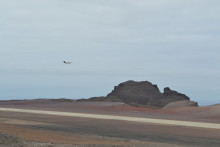 Calibration Flight Takes Off From Angola