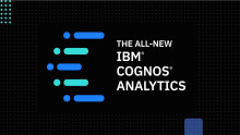 New features - IBM® Cognos® Analytics 11.1.2.