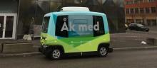 Grönt ljus till försök med självkörande buss på allmän väg