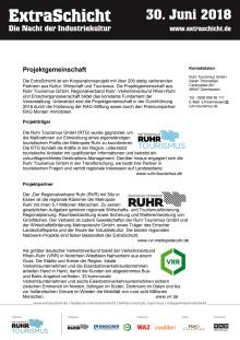 ExtraSchicht 2018 - Projektgemeinschaft