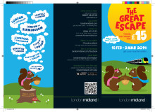 The Great Escape Leaflet - Feb/March 2014