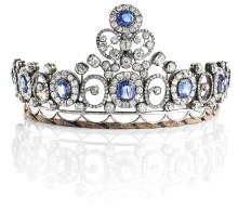 Queen Alexandrine's Russian Sapphire Tiara Sold for DKK 2 million