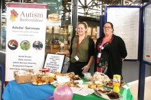 Thameslink colleagues bring in the dough for Bedfordshire autism charity