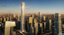 The first KONE UltraRope® in China to be installed in Beijing's tallest building, China Zun