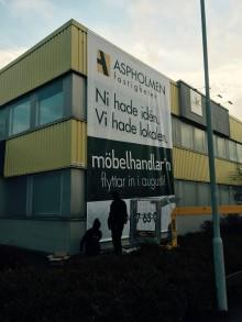 Möbelhandlar´n flyttar till Aspholmen i Örebro