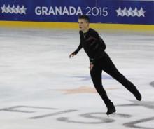 Konståkarna Ondrej Spiegl och Marcus Björk förbättrade sina placeringar efter bra åk i Universiadenfinalen