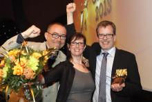 Sabis Fältöversten i Stockholm vinner Arla Guldko 2013 Bästa Matglädjebutik