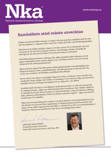 Sammanfattning av Riksrevisionens rapport om stöd till anhöriga